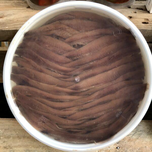 close up anchoas