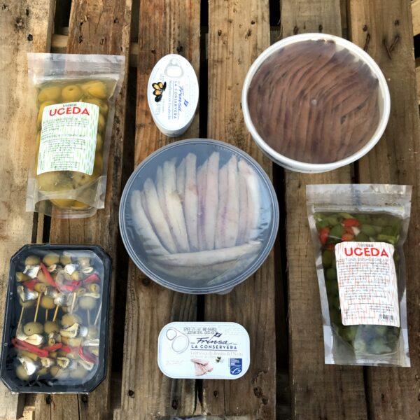 pack sardinas anchoas