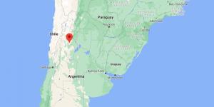 mapa Arauco La Rioja Argentina
